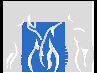 Spine Figures Blue